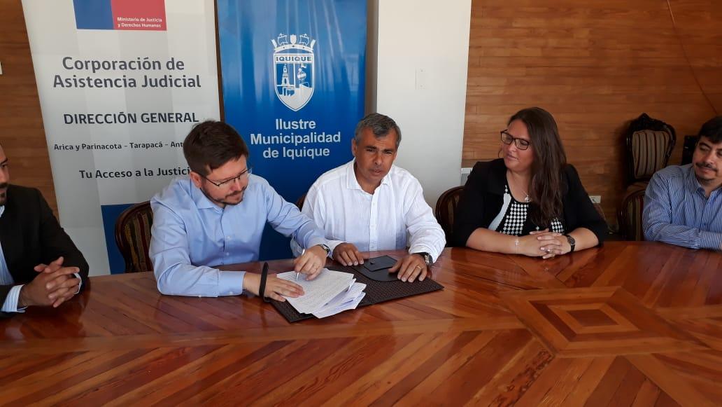 La CAJTA y la Ilustre Municipalidad de Iquique renovaron su Convenio de Colaboración