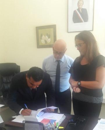Director Interino Hace Entrega de Informe sobre su Gestión a la Nueva Directora General de CAJTA