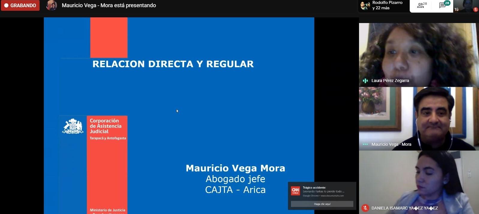 Consultorio Jurídico Arica, continua ciclo de charlas en el Centro de Formación Técnica de la Universidad de Tarapacá
