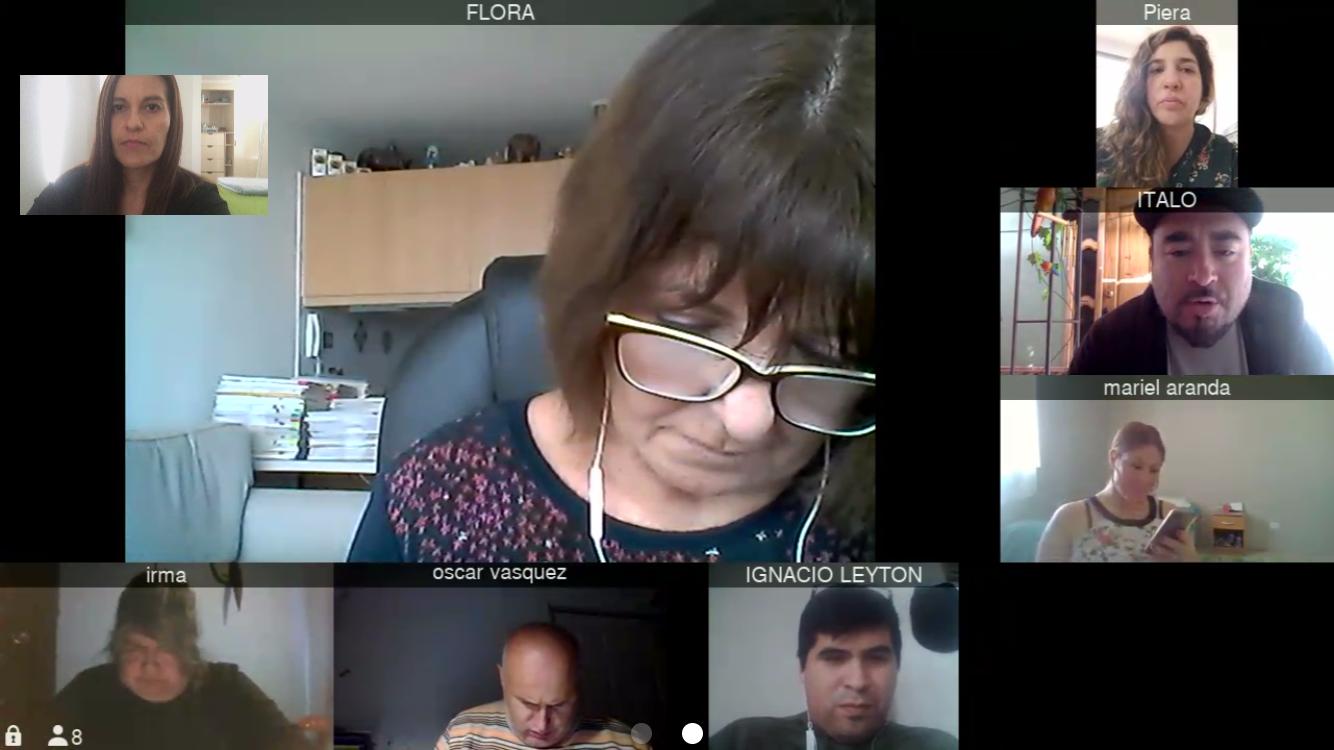 Reunión de coordinación: Consultorio Jurídico de Pozo Almonte y el Consultorio Móvil del Tamarugal
