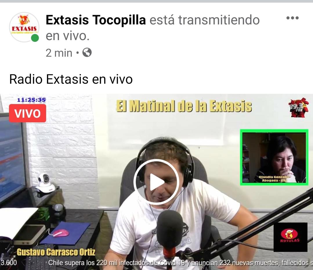Consultorio Jurídico de Tocopilla en Radio Éxtasis FM