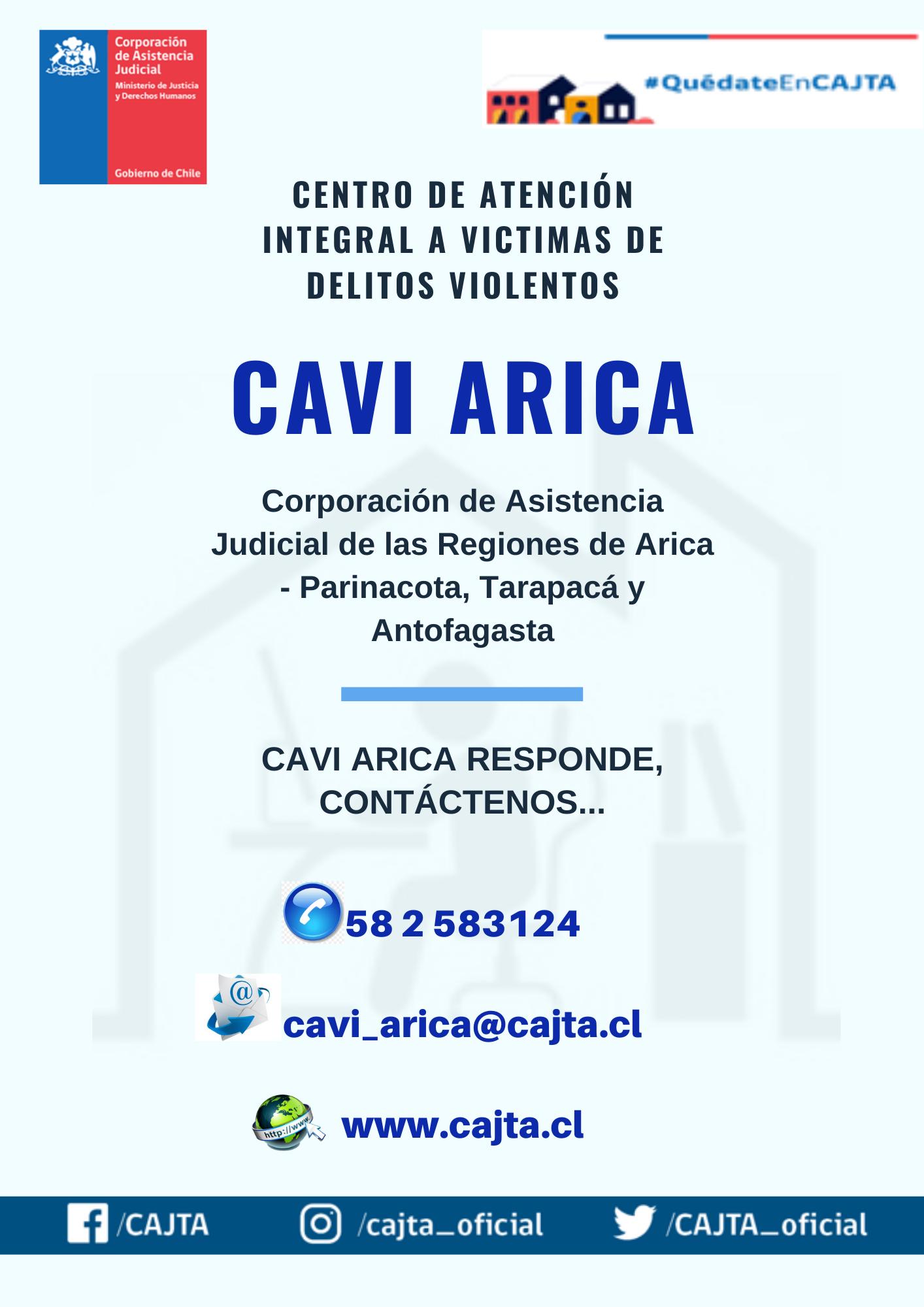 Centro de Atención a Víctimas de Delitos Violentos de Arica y Parinacota