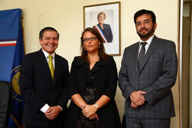 Directora General de CAJTA Realiza Visita de Trabajo en Antofagasta