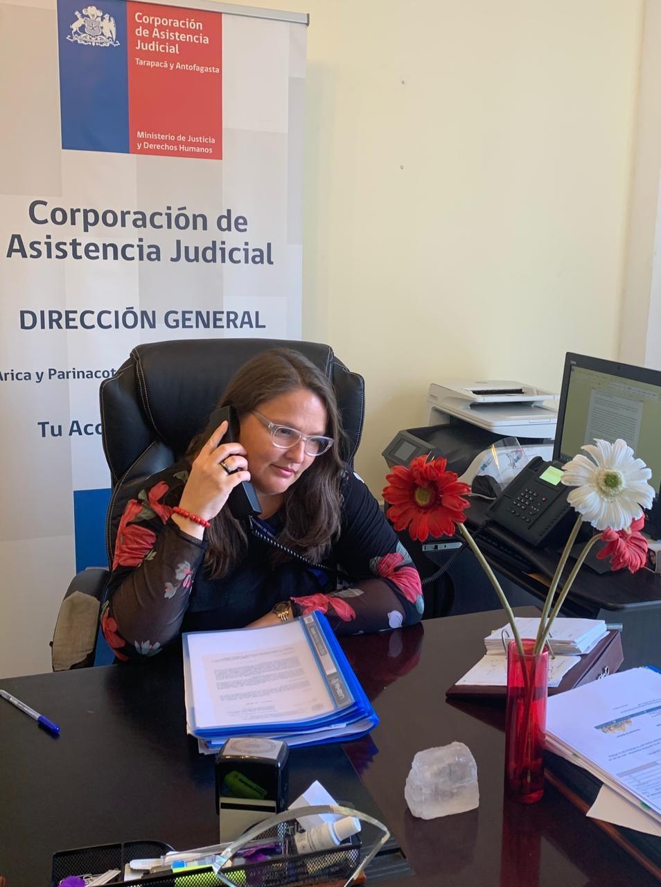 Directora General CAJTA participa en Radio Bravísima