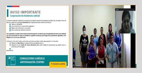 Consultorio Jurídico Antofagasta Centro realiza actividad a las internas del Centro Penitenciario Femenino