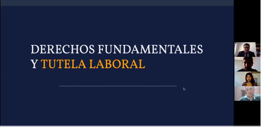 """ODL de Arica realiza charla: """"Derechos Fundamentales y Tutela Laboral"""""""