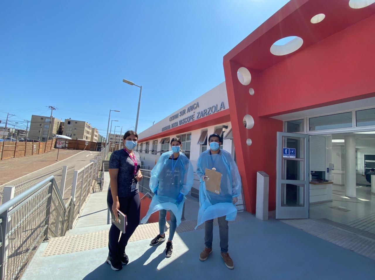 Unidad de Adulto Mayor llega al CESFAM SUR en Arica