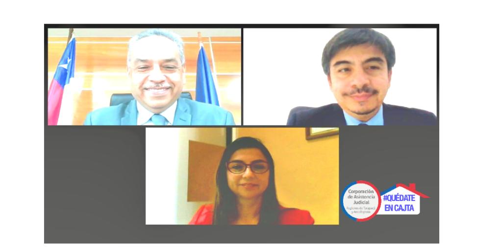 Reunión protocolar con Presidente de la Corte de Apelaciones de Iquique