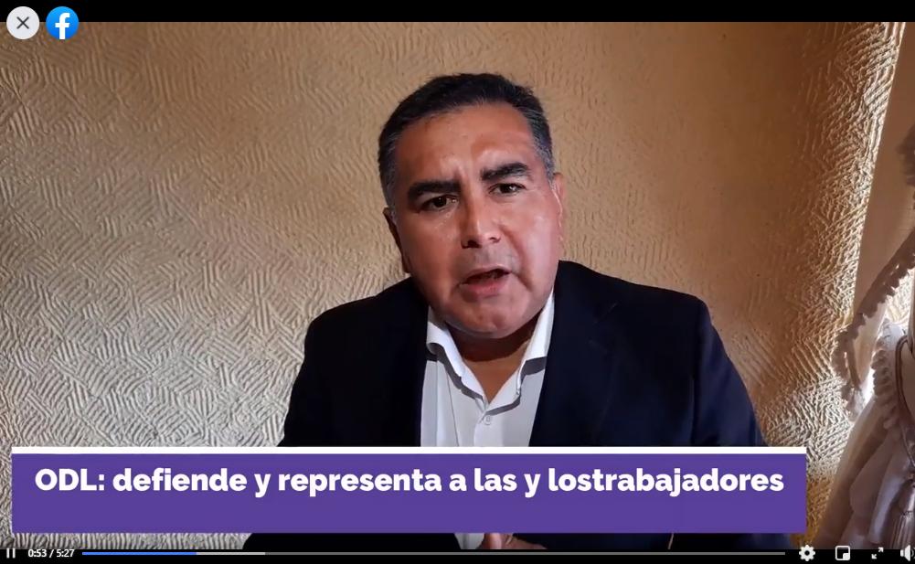 Vídeo informativo el DESPIDO INDEBIDO O ILEGAL