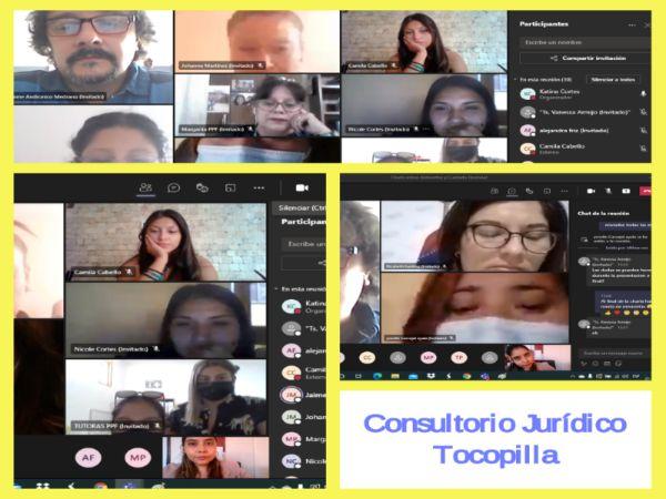 Consultorio Jurídico de Tocopilla realiza charla  a Programa Prevención Focalizado Monseñor Oscar Romero