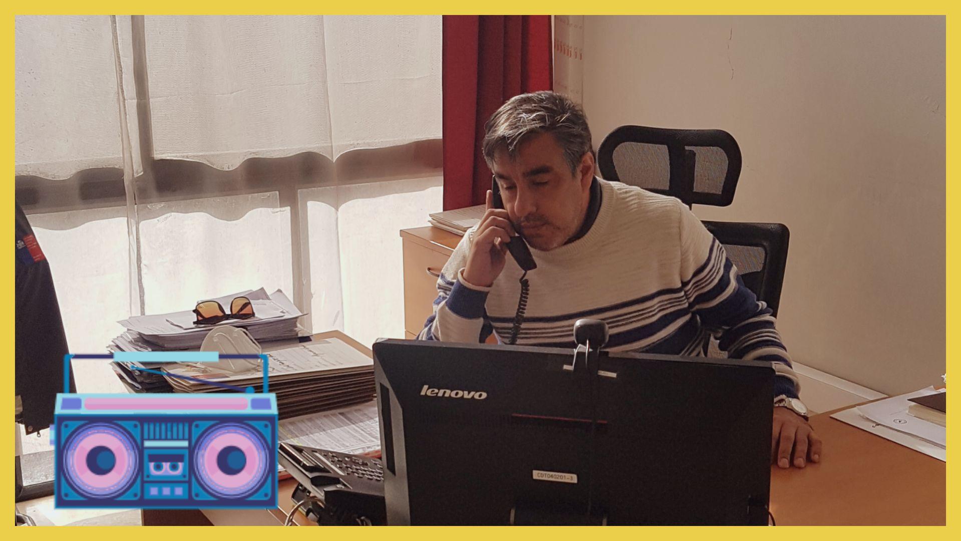 Abogado Jefe del Consultorio Jurídico de Calama en Radio Carillón 94.1 FM
