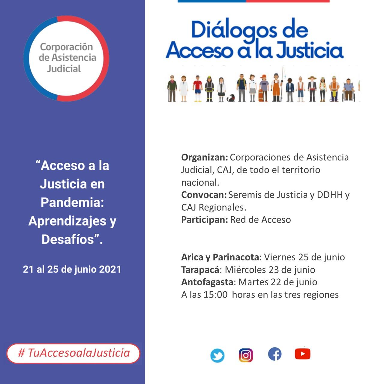 Diálogos de Acceso a la Justicia