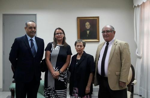 Directora General de CAJTA se Reúne con Ministra y Ministros de Corte de Apelaciones de Iquique