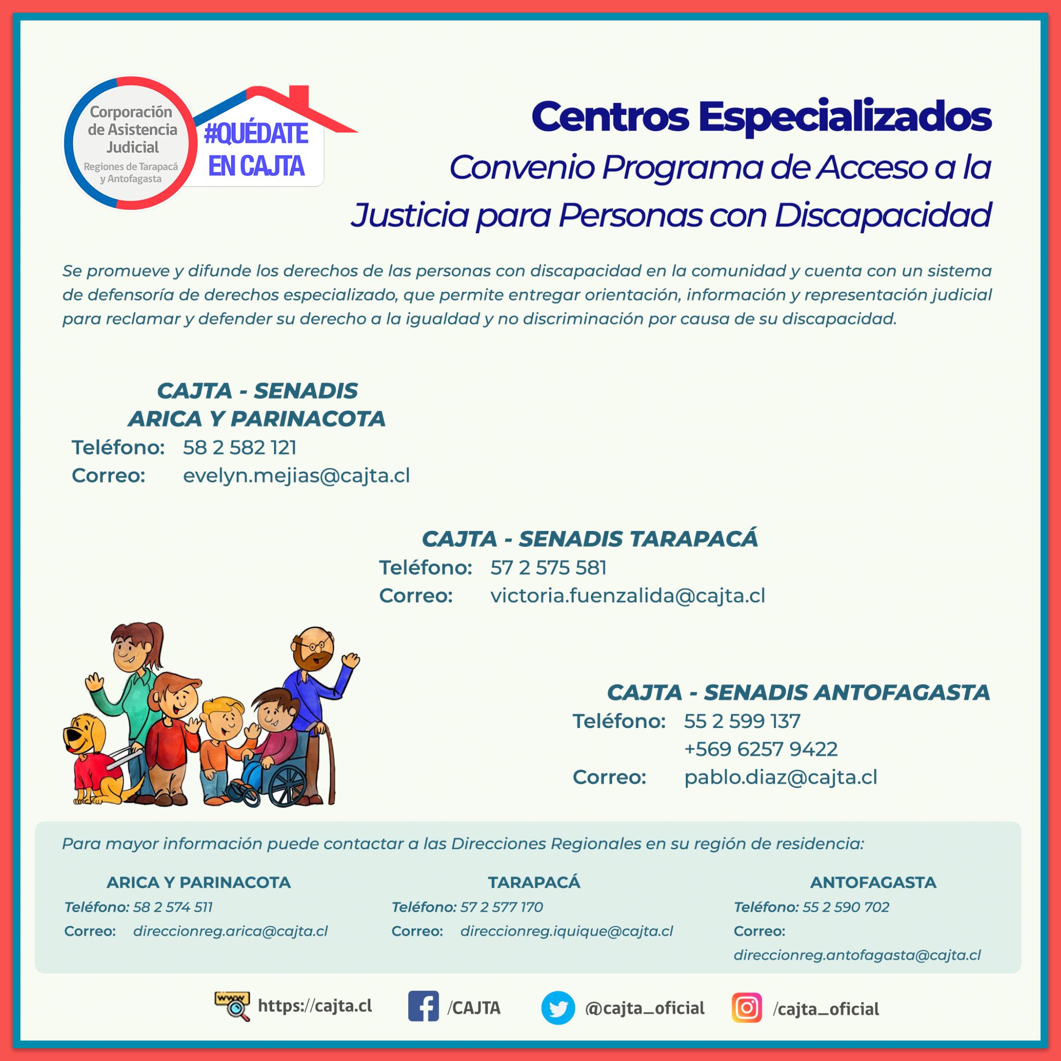 Convenio de Acceso a la Justicia para Personas con Discapacidad