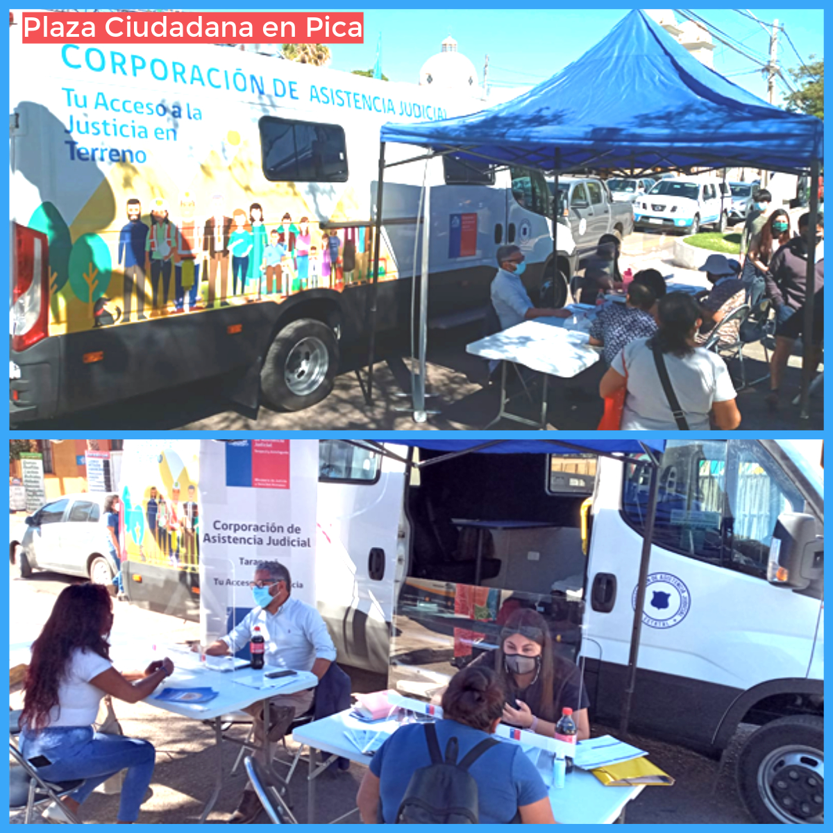 CAJTA Participa en Plaza Ciudadana en Pica