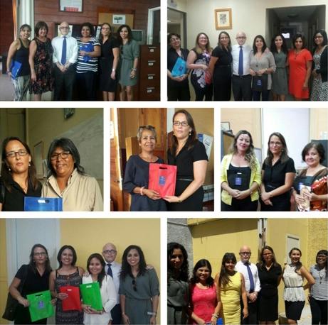Directora General de CAJTA Saluda a las Funcionarias en el Día Internacional de la Mujer
