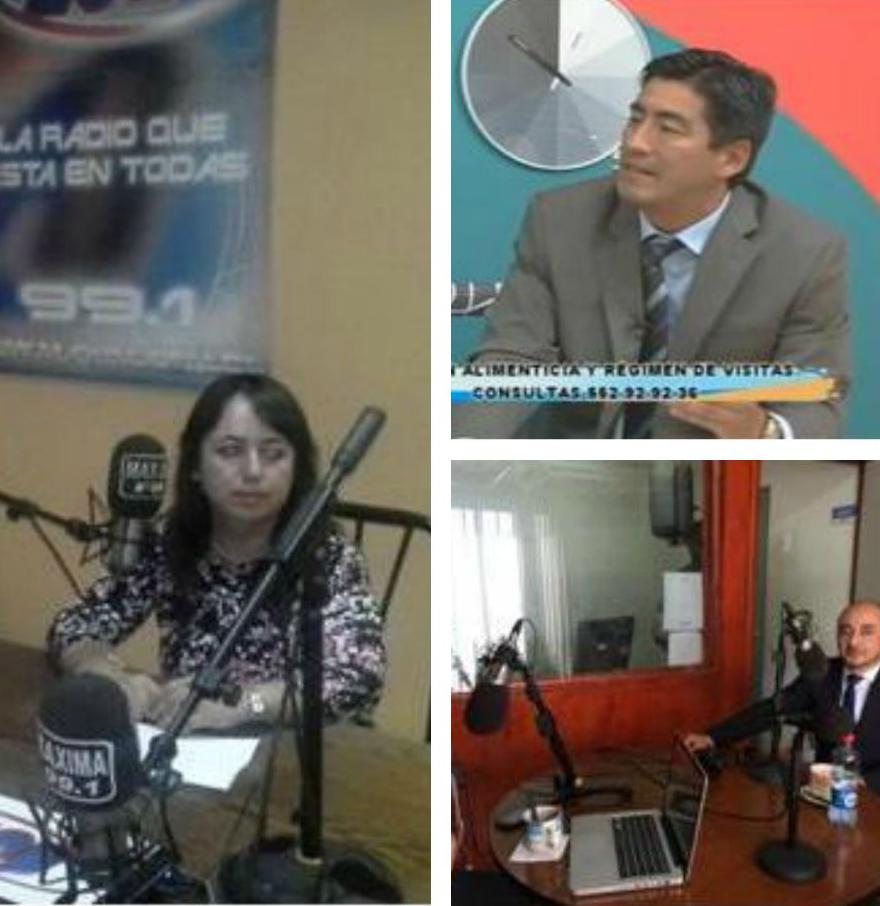 Unidades de Antofagasta Participan en Programas de TV y Radio
