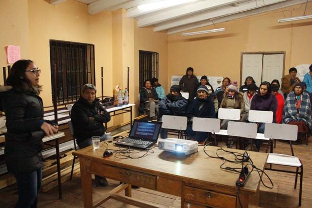 Actividades en la Región de Arica y Parinacota