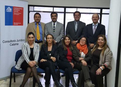 Funcionarios y Postulantes de Calama y Tocopilla se Reúnen con Directora General
